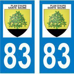 Sticker Plaque Plan-d'Aups-Sainte-Baume 83640