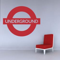 Sticker Mural Underground - 1