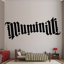 Autocollant Mural Illuminati - 1