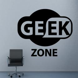 Sticker Mural Geek Zone