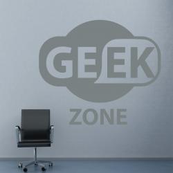 Sticker Mural Geek Zone - 1
