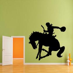 Sticker Mural Cowboy Rodéo