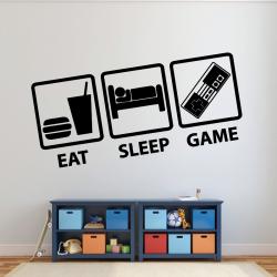 Sticker Mural Gamer