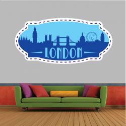 Sticker Mural Logo London