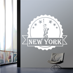 Sticker Mural New York - 1