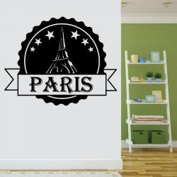 Sticker Mural Paris