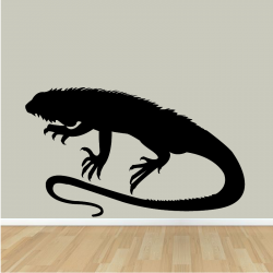 Sticker Mural Iguane