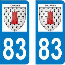 Autocollant Plaque Tourves 83170