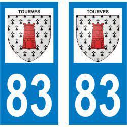 Sticker Plaque Tourves 83170