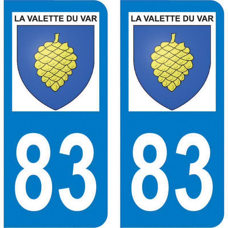 Autocollant Plaque La Valette-du-Var 83160