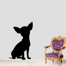 Sticker Mural Chien Chihuahua - 1