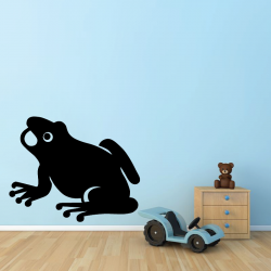 Sticker Mural Grenouille