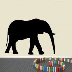 Autocollant Mural Elephant - 1