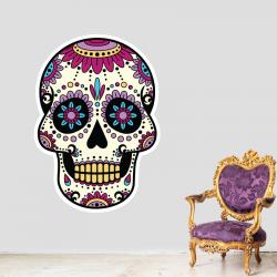 Sticker Mural Tête de Mort