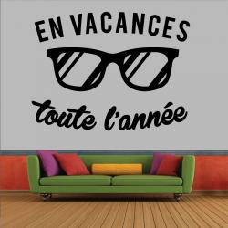 Sticker Mural En Vacances...
