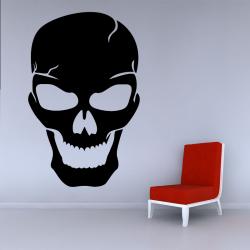Sticker Mural Crâne Sourire