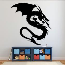 Autocollant Mural Dragon