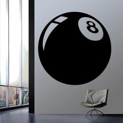 Sticker Mural Boulle De 8