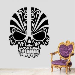 Sticker Mural Tête De Mort...