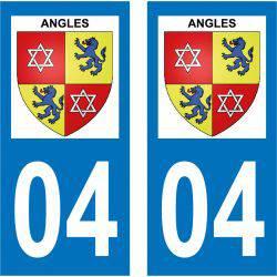 Sticker Plaque Angles 04170