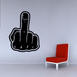 Sticker Mural Doigt...