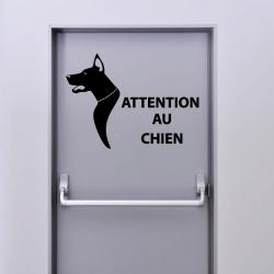 Sticker Attention Au Chien