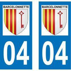 Sticker Plaque Barcelonnette 04400