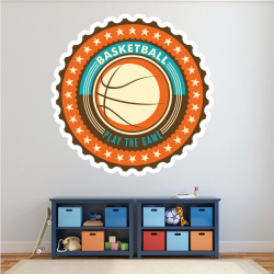 Sticker Mural Basketball...