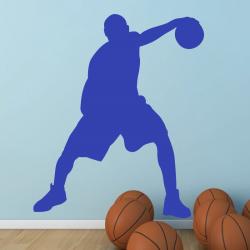 Autocollant Mural Basketteur - 1
