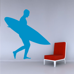 Sticker Mural Surfeur - 1