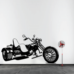 Sticker Mural Trike Custom