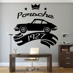 Sticker Mural Porshe 1927