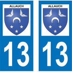 Sticker Plaque Allauch 13190