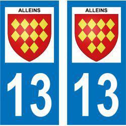 Sticker Plaque Alleins 13980