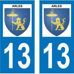 Sticker Plaque Arles 13200