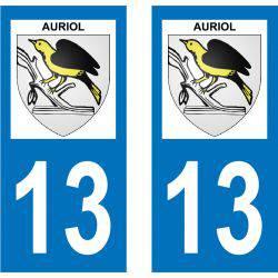 Sticker Plaque Auriol 13390