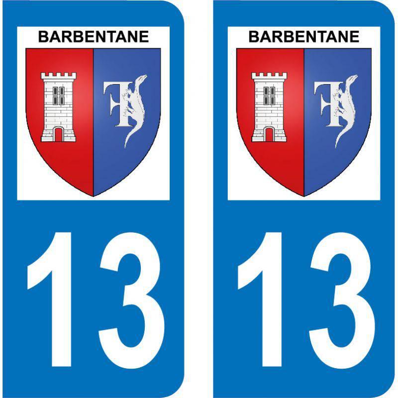 Autocollant Plaque Barbentane 13570