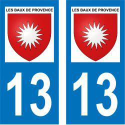 Sticker Plaque Les Baux-de-Provence 13520