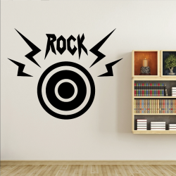 Sticker Mural Boomer Rock