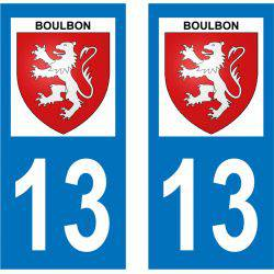 Sticker Plaque Boulbon 13150