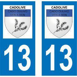 Sticker Plaque Cadolive 13950