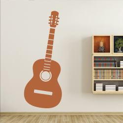 Sticker Mural Guitare