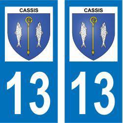 Sticker Plaque Cassis 13260