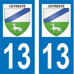 Sticker Plaque Ceyreste 13600