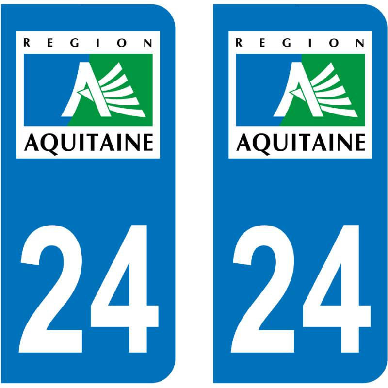Sticker Plaque 24 Dordogne
