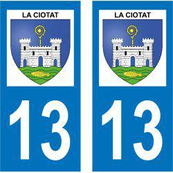 Sticker Plaque La Ciotat 13600