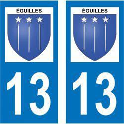Sticker Plaque Éguilles 13510