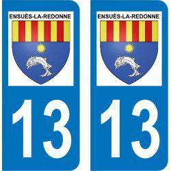 Autocollant Plaque Ensuès-la-Redonne 13820