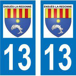 Sticker Plaque Ensuès-la-Redonne 13820