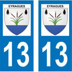Sticker Plaque Eyragues 13630